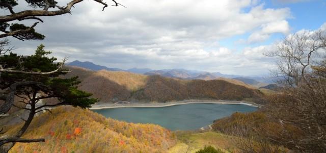 【10/15(日)】日光連山と栗山ダムのダブル眺望 月山紅葉トレッキング