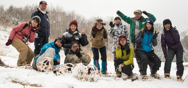 【2015㉙㉚雪上自然観察&メープルシロップ採取レポ】土呂部の冬のごちそう☆極上里山体験