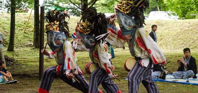 【8/26(土)】江戸中期から続く、地域の誇りを楽しく鑑賞。川俣 獅子舞鑑賞+郷土グルメ