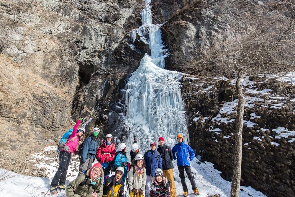 【2016㉗夫婦滝スノートレッキングレポ】表情が異なる3つの氷瀑、ツアー初解禁!