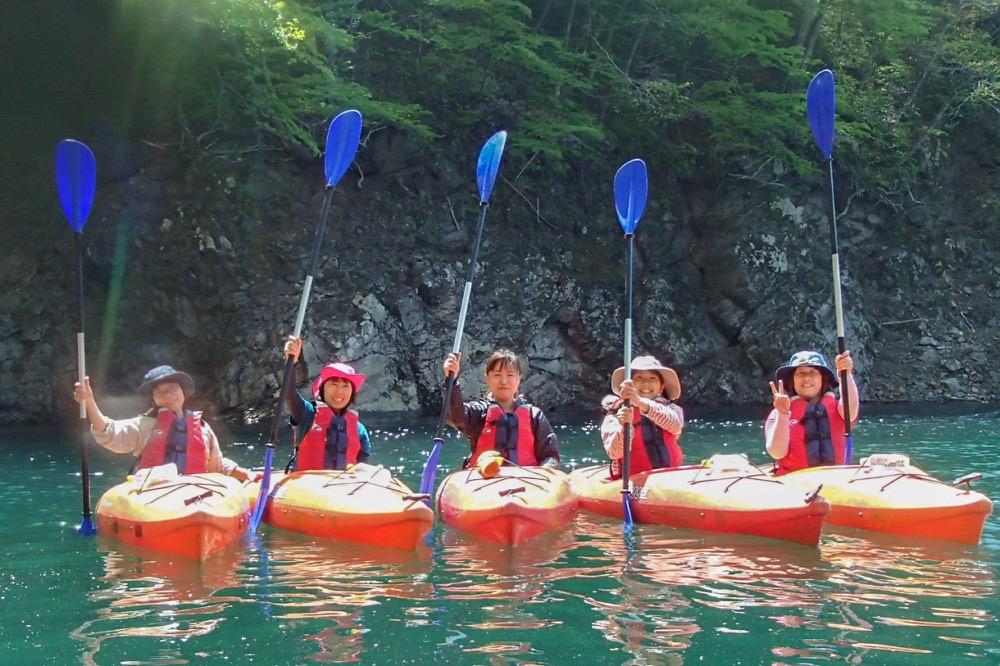 【2017川俣湖カヌー(新緑)レポ】日常を離れた、水の上の贅沢時間