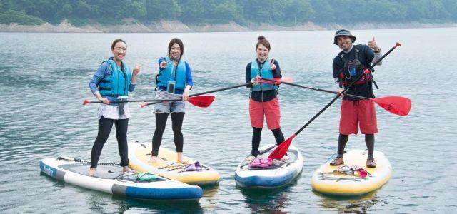 【2017川俣湖SUPレポ】関東の最も奥でSUP。その魅力とは?
