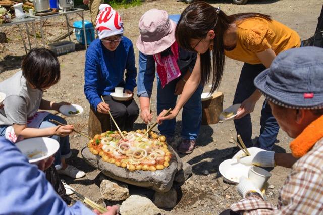 【5/26(土)】超ワイルド!栗山流バーベキュー食祭 伝統グルメ石焼体験+地域散策
