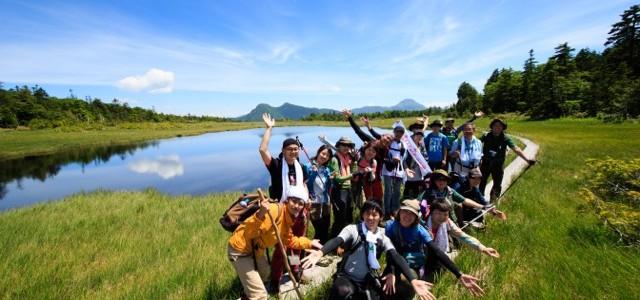【2015⑪ 鬼怒沼トレッキングレポ】最高の天気で絶景の天空湿原。みんな笑顔でハイテンション!