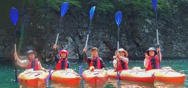 【10/21(日)】広大なダム湖を独り占め 川俣湖カヌー(紅葉)