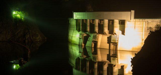 【8/11(土)】川俣ダムのライトアップ&星空観察 奥山の渓谷で輝く、芸術のアーチボティ