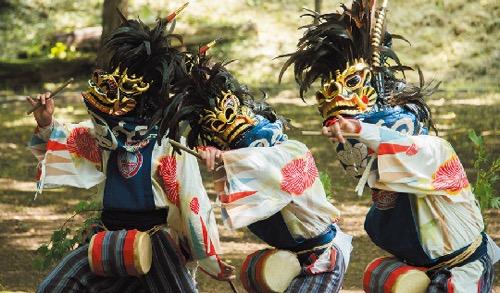 【8/25(土)】江戸中期から続く地域の誇りを楽しく鑑賞。川俣 獅子舞鑑賞+郷土グルメ