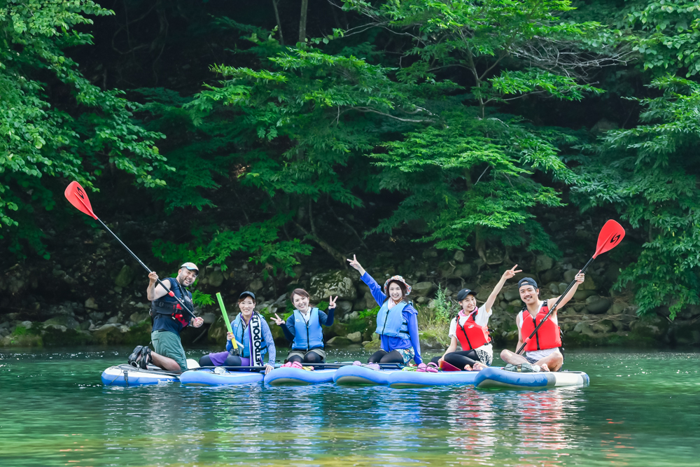 【SUPレポ】 どこのリゾートだよ!?  2年ぶりに絶景・小網ダム湖でSUP