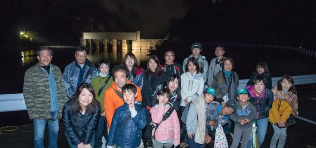 【川俣ダムライトアップ&星空観察レポ】秋の夜長に光り輝くアーチダム