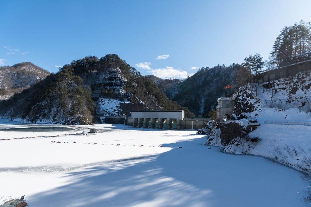 【2/3(日)】川俣ダム 真冬の鑑賞会 雪化粧したダムの魅力にせまる ※満員御礼