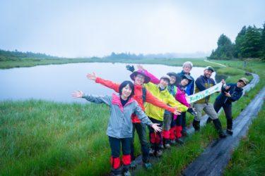【鬼怒沼トレッキング(初夏)レポ】小雨の天空湿原も、なかなかの雰囲気でした